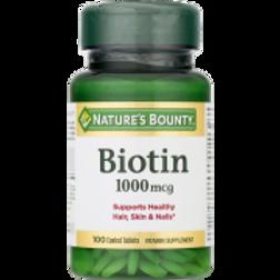 Nature's Bounty Biotin 1000 MCG 100's