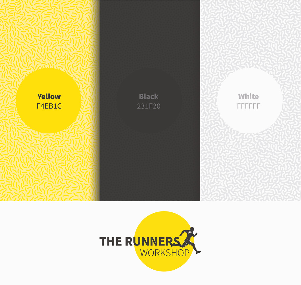 Color Palette For Logo | Yellow Black White