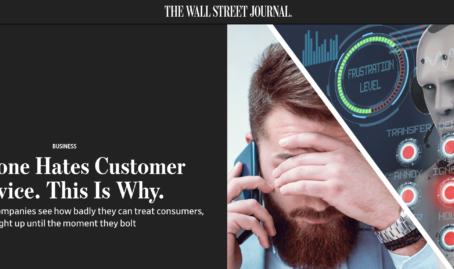 WSJ Explains Awful Customer Service – Lexis/Nexis is A Poster Child of Failure