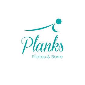 Pilates and Barre Studio Logo | Turquoise & Cursive Logo