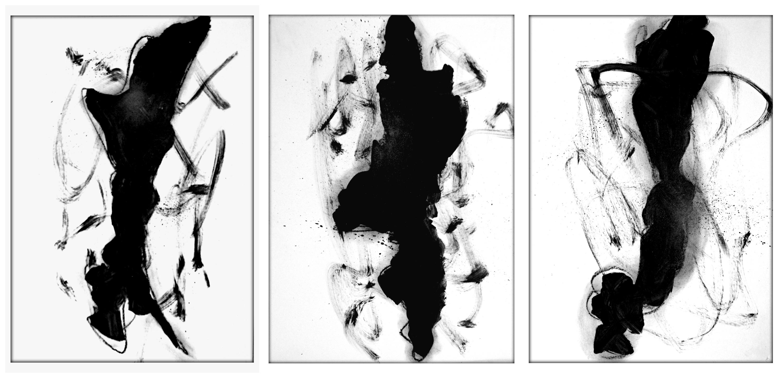 Tríptico Gestos I, II e III.
