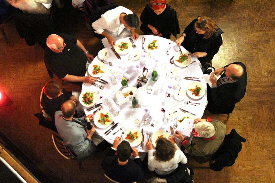 Ein exquisites Gala-Dinner ...