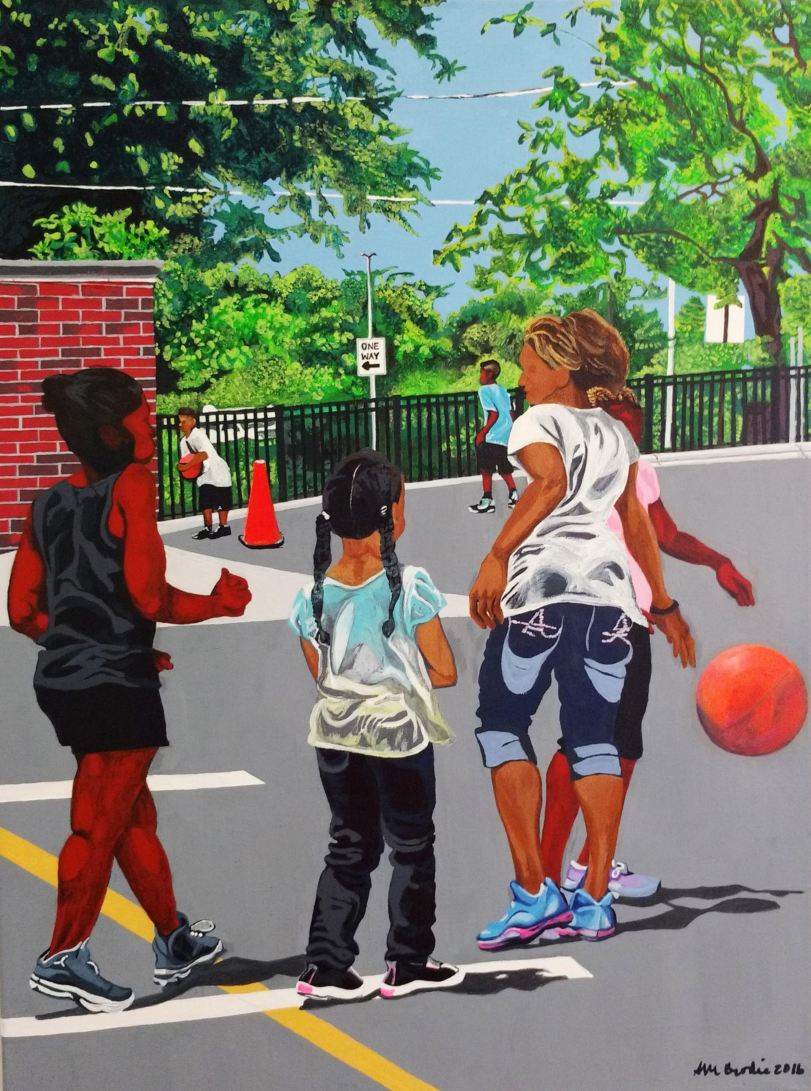 Girls B-Ball, Too by Sheryl M Brodie
