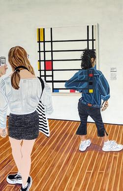 Viewing Mondrian