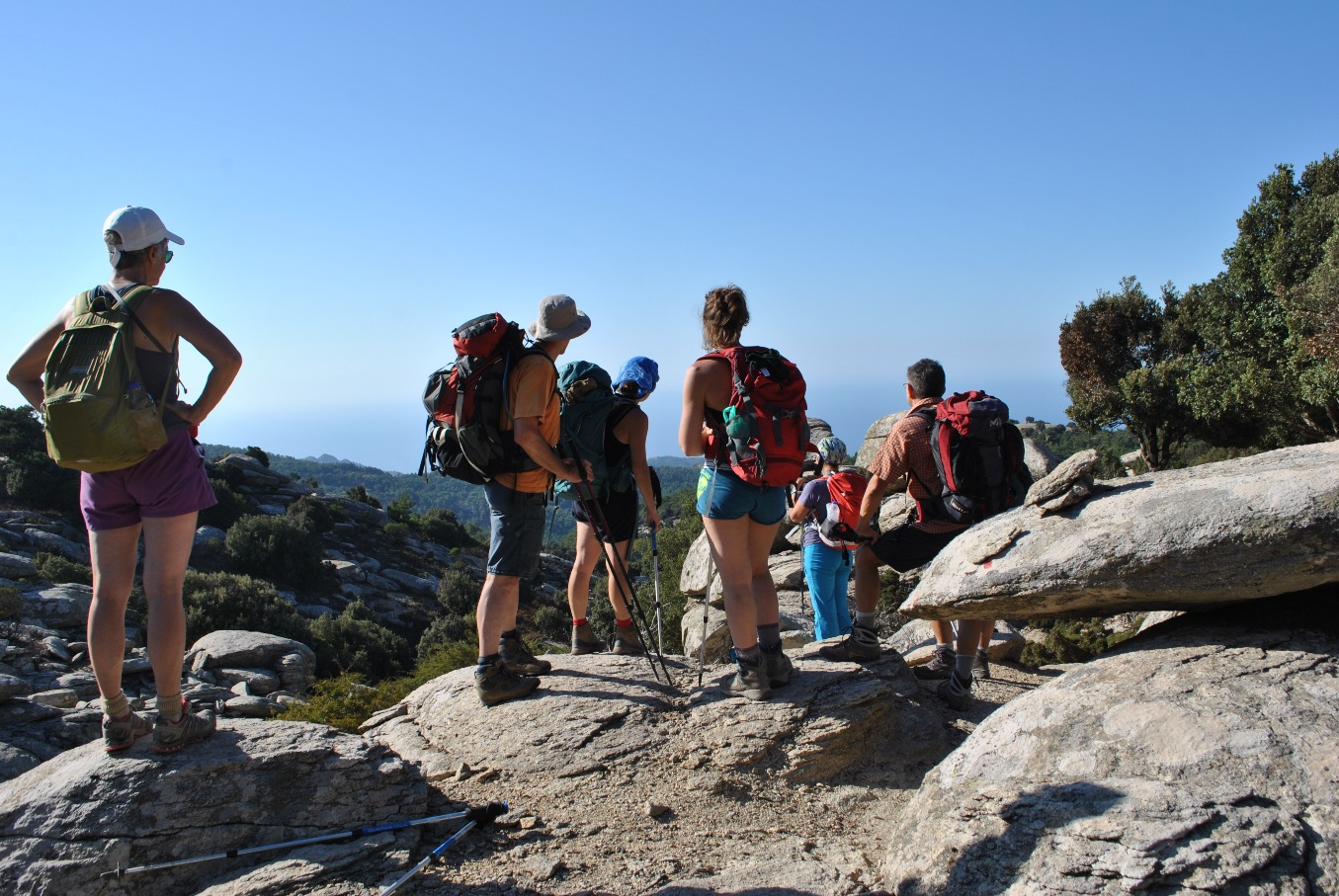 Guided hiking tours in Ikaria island