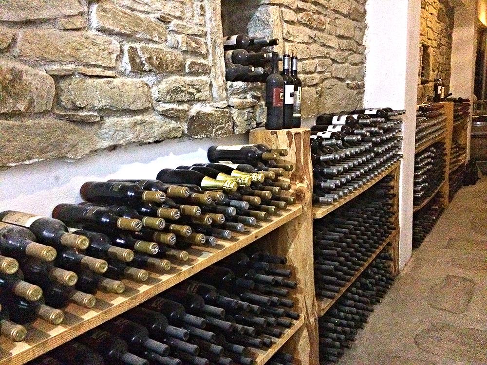The wine cellar of Afianes Winery in Ikaria