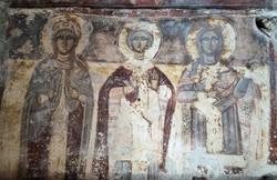 Theoskepasti fresco Ikaria