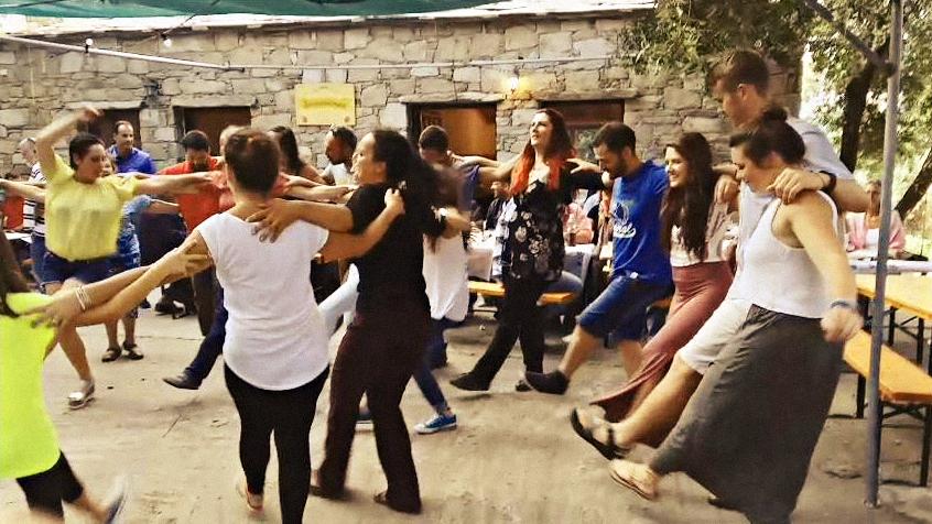 Village feast in Ikaria Island - Panigiri in Ikaria