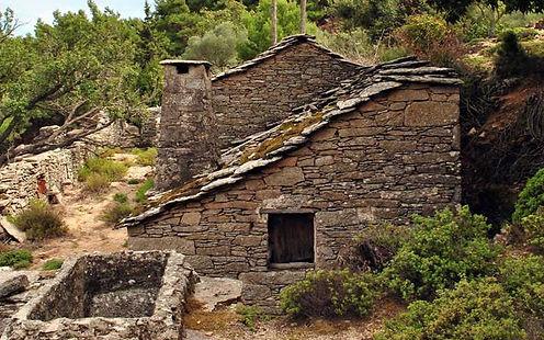 Stone house in Ikaria