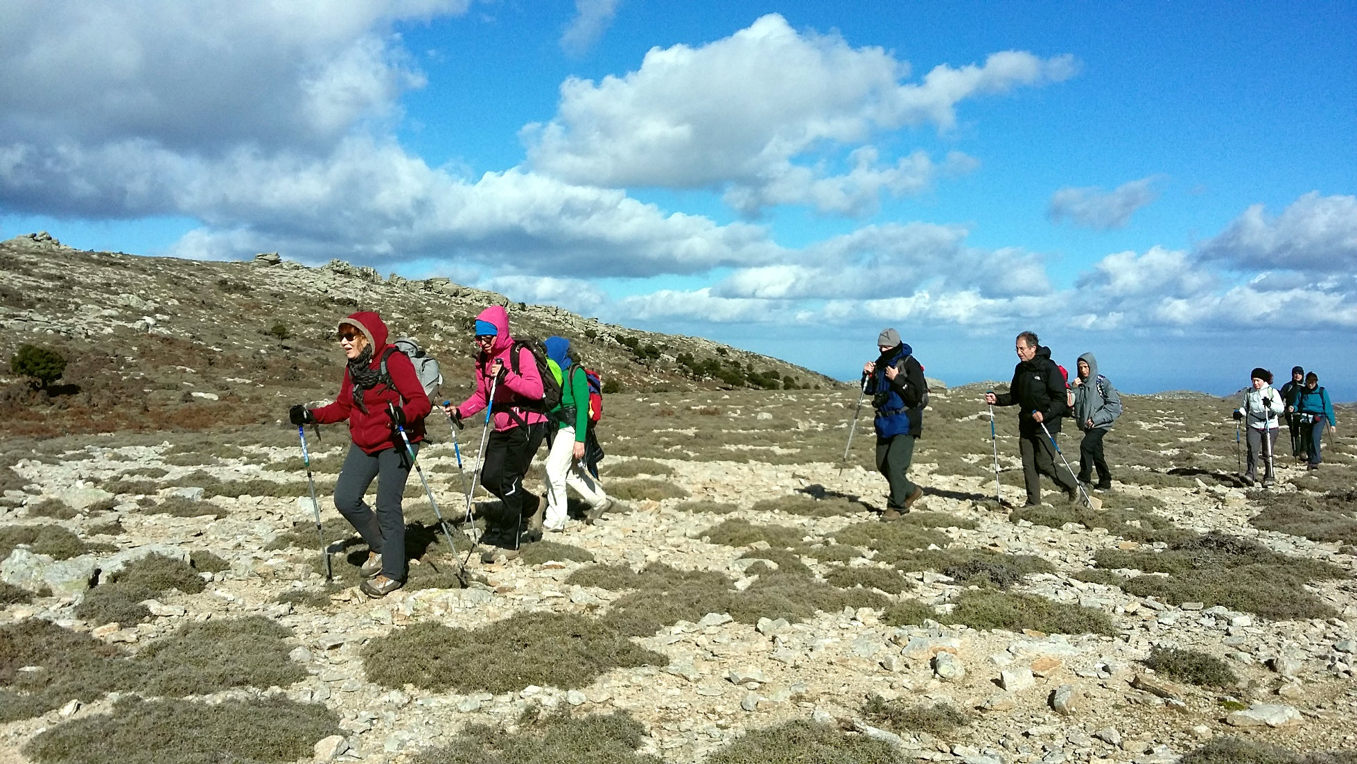 Hiking and trekking in Ikaria