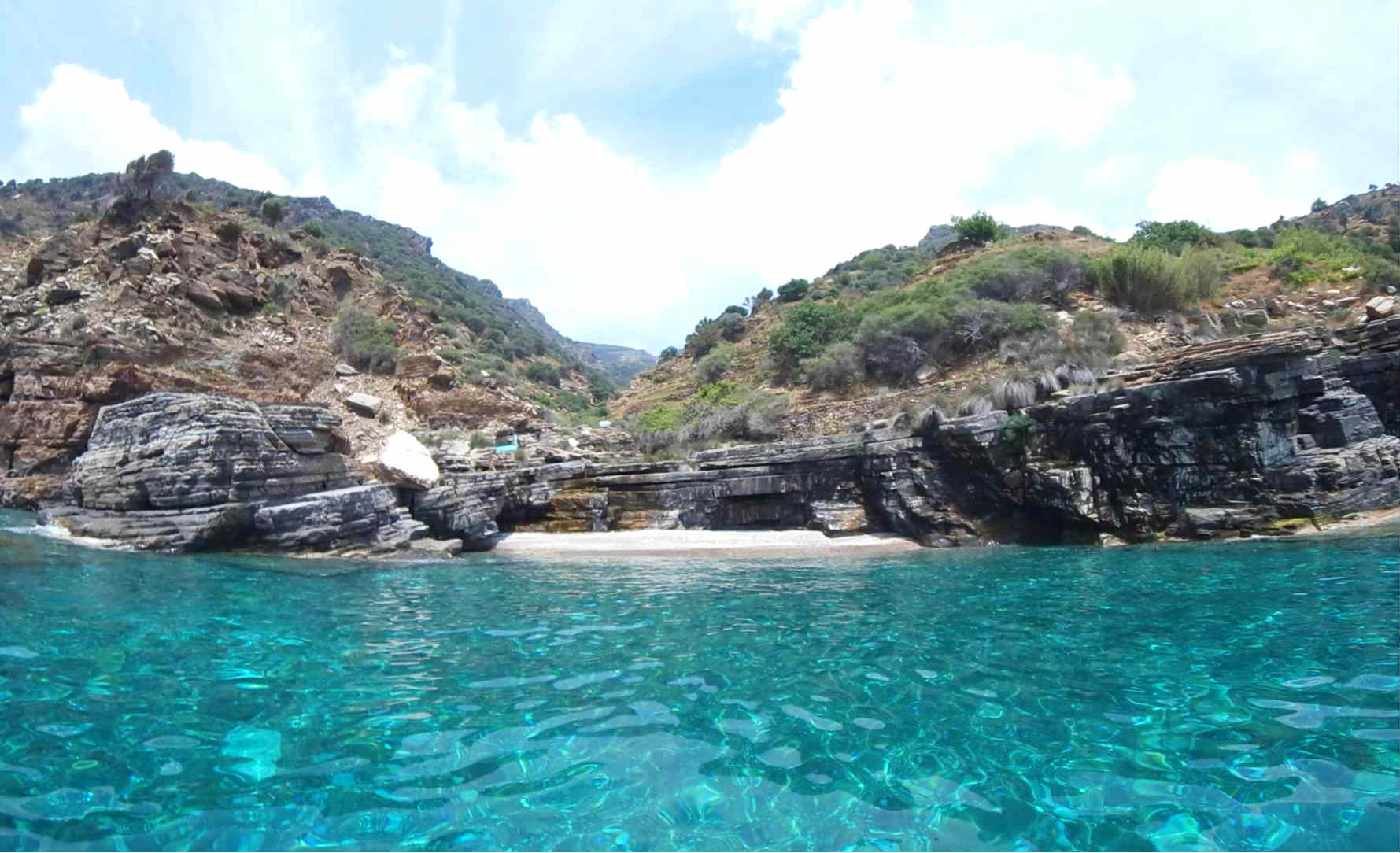 Ikaria beach tour - secluded beaches