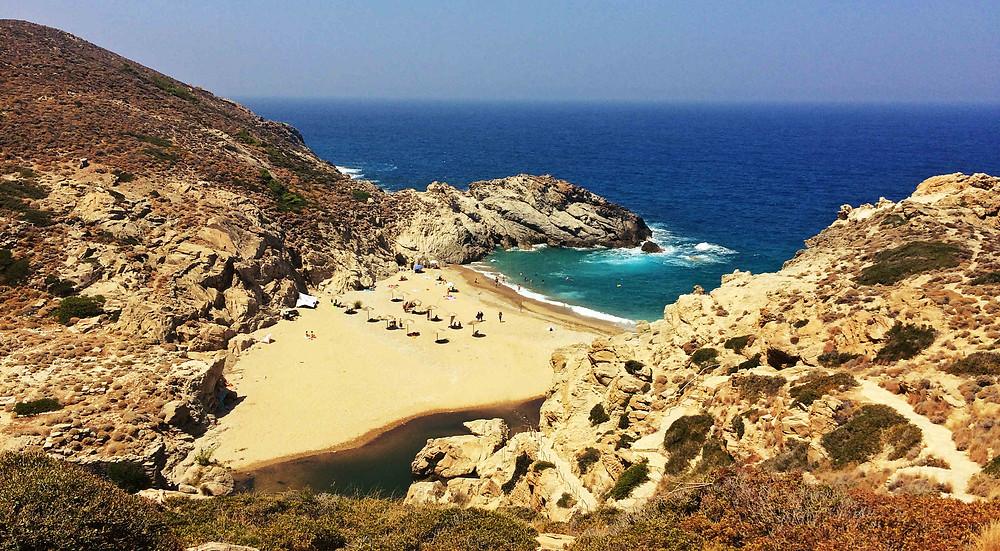 Nas beach Ikaria Island - Tailor-made tours