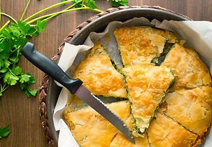 Greek pie workshop in Ikaria