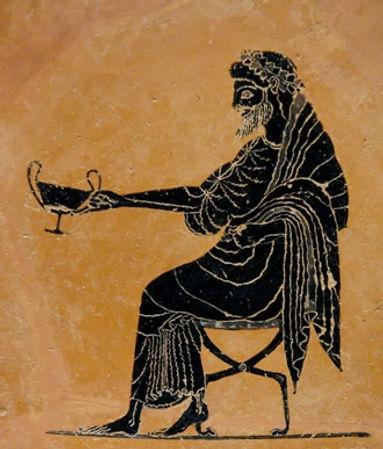Dionysus God of wine Ikaria