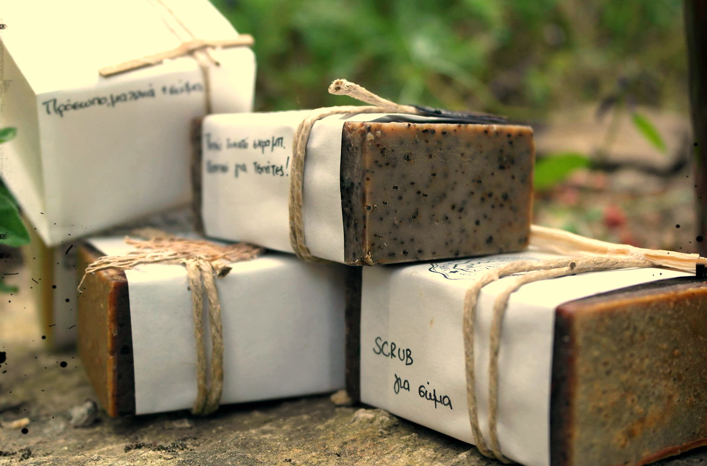 Workshop with handmade natural soaps