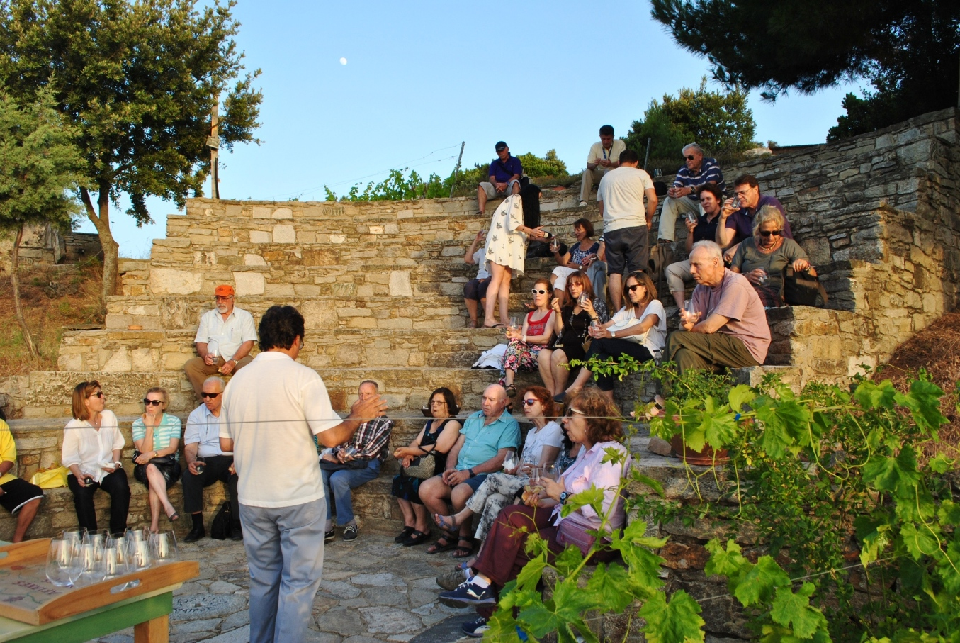 Winery visit Ikaria cultural tour