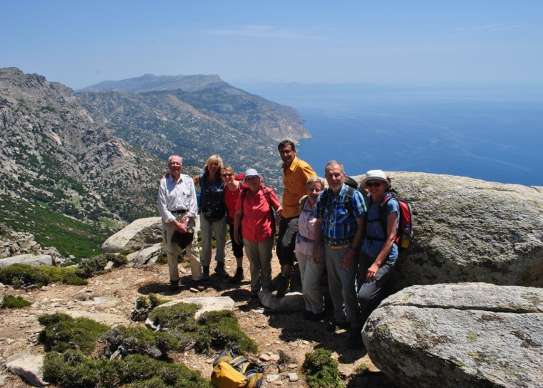 Hiking in Ikaria - Atheras