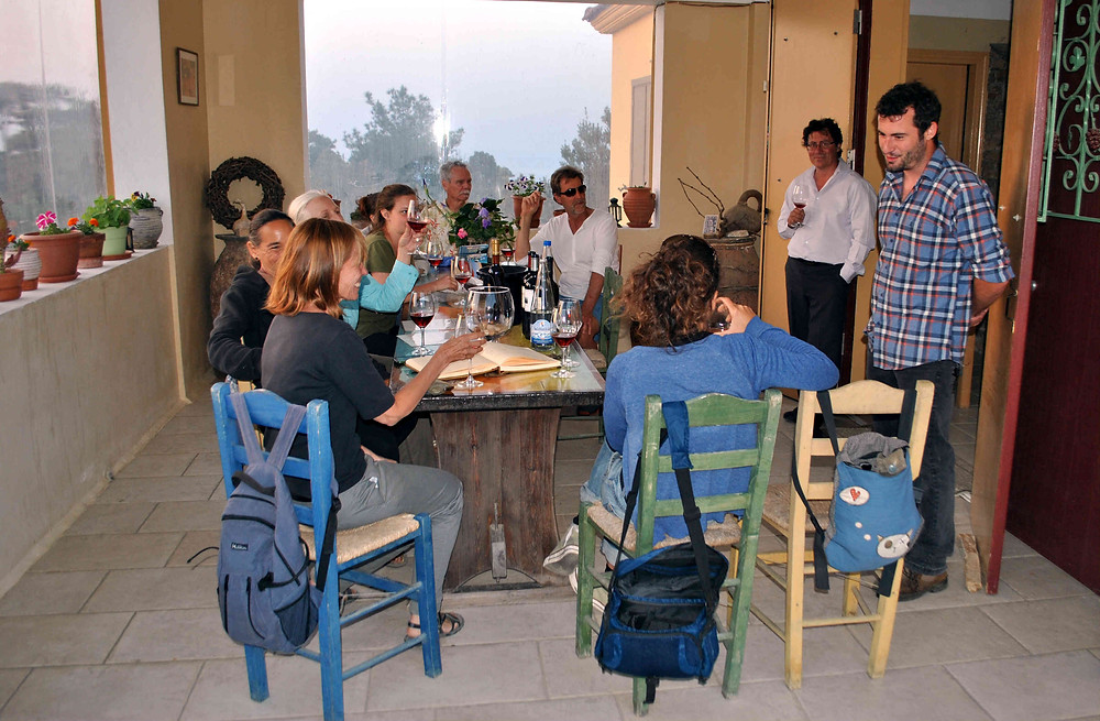 Wine tasting and wine tours in Ikaria - Discover Ikarian wines