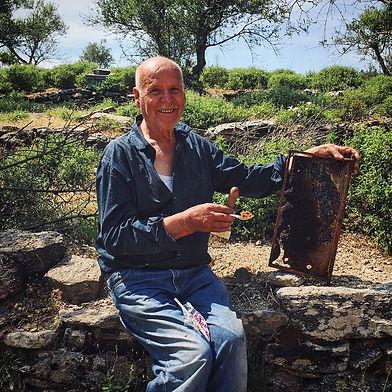 Beekeeper in Ikaria
