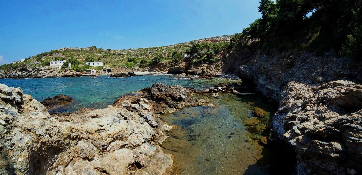 Thermal springs Ikaria Agia Kyriaki