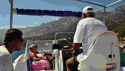 Beach tour in Ikaria by boat