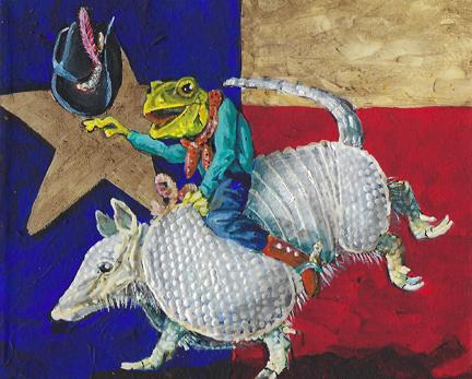 Texas Frog Kickin it up in Texas72
