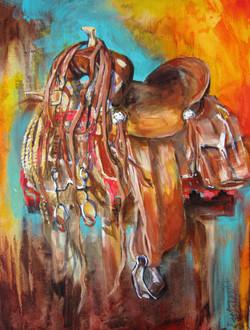 Nocona Saddle