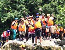 唐津市 国際渓流滝登り大会参加