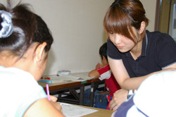 小学校の夏休み学習指導