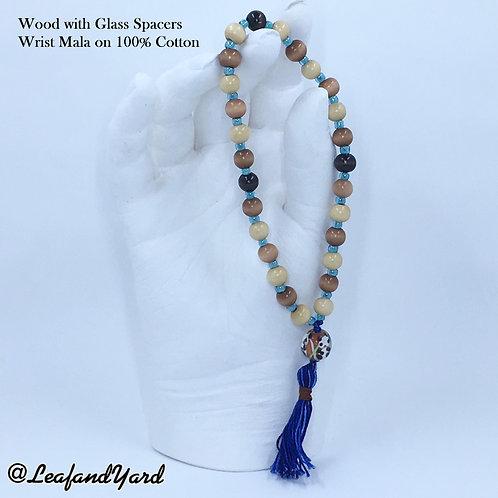 Japa Mala Prayer Beads - Wrist 27 Beads