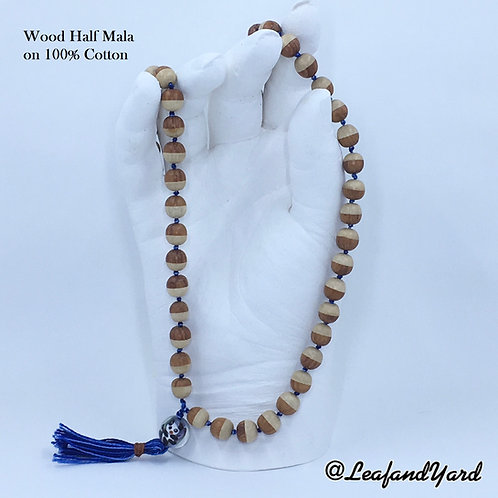 Japa Mala Prayer Beads - Half 54 Beads