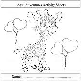 free dot to dot, free activity sheets. a