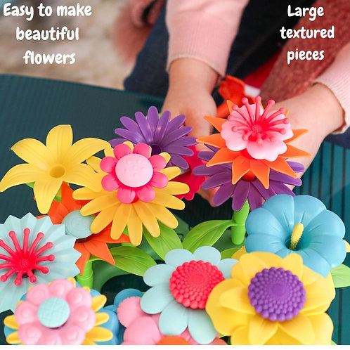 Build A Bouquet - 112pc Build A Flower Garden