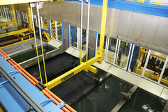 electrocoat system