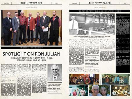 Spotlight on Ron Julian