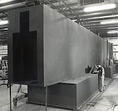 One of TTX's first indusrial ovens