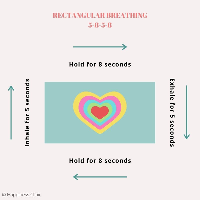 Breathing practices to reduce anxiety