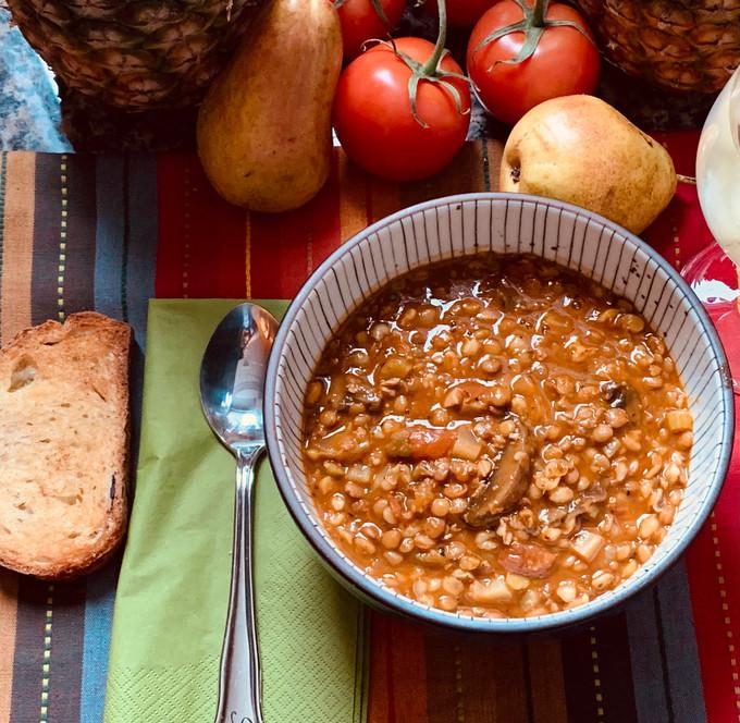 Mixed Beans w/ Grains