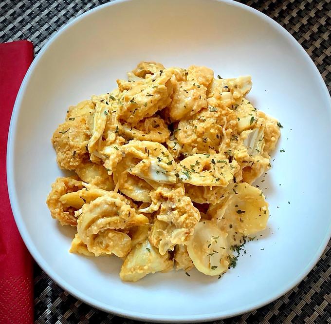 Crabmeat with Orecchiette Pasta