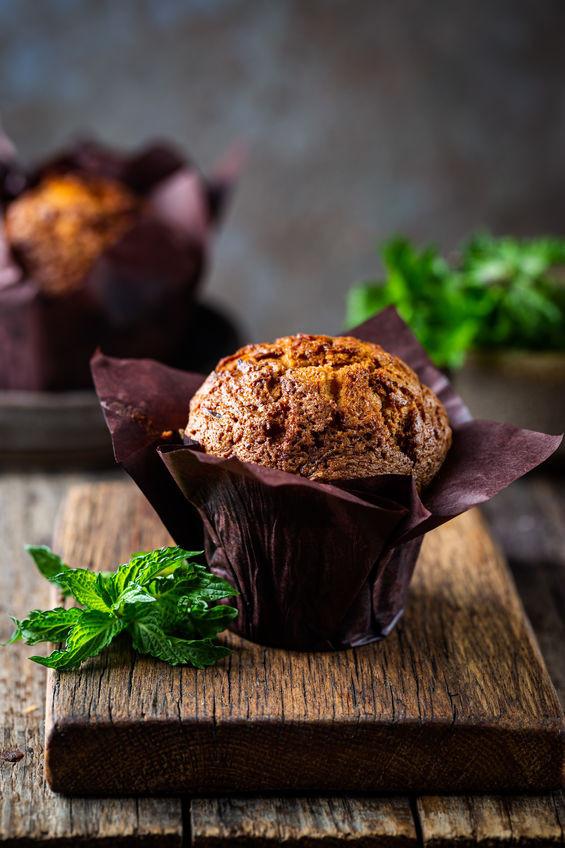 Vegan Oatmeal Raisin Muffins