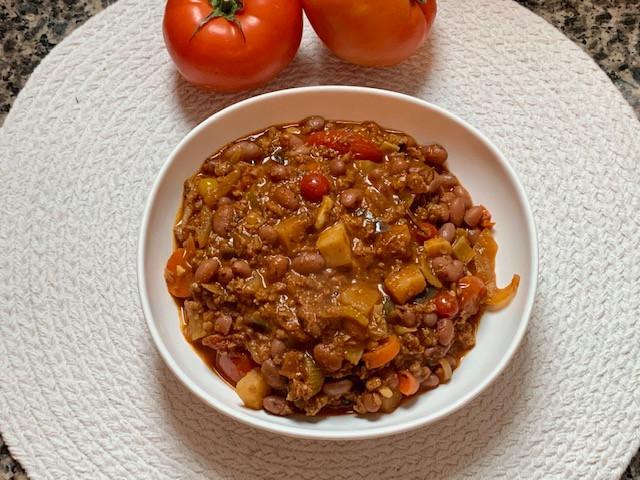 Red Beans w/ Vegan Meat