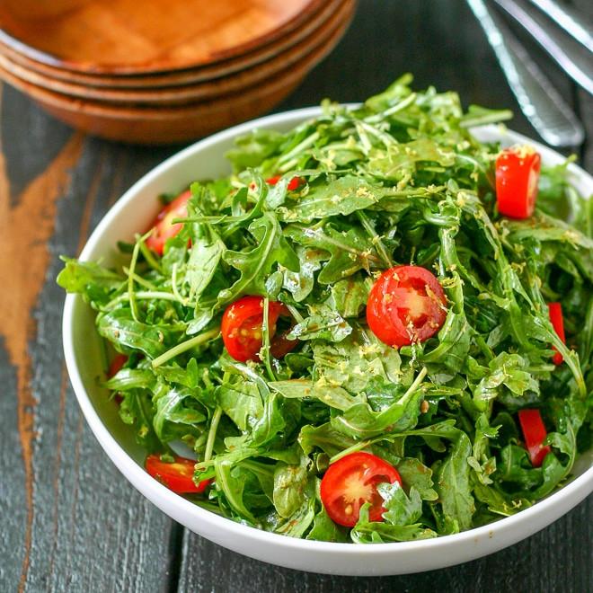 Cherry Tomatoes & Arugula Salad