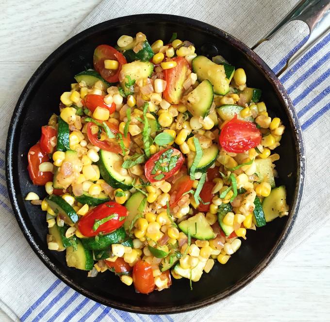 Corn and Lima Bean Succotash