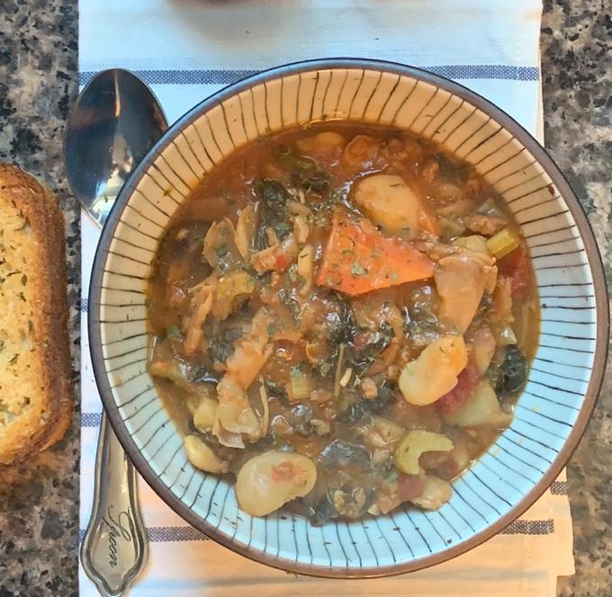 Lima Bean & Vegetable Stew