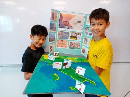An International School with the local context in mind!