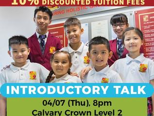 名望国际学校2020年招生说明会 Charis International School Tawau Introductory Talk