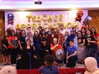 谢师宴 Teacher Appreciation Night
