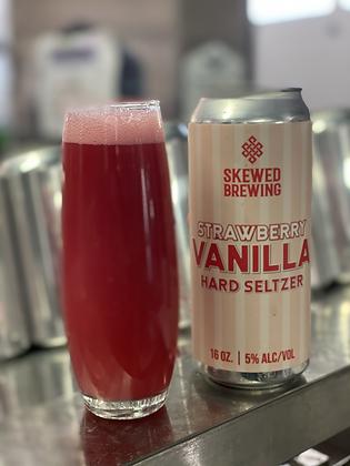 Strawberry Vanilla Milkshake Seltzer