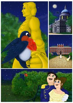 """Página de """"El príncipe feliz"""""""