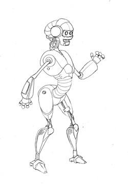 Robot de protocolo